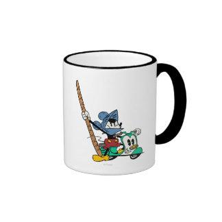 Caballero de Mickey el | Bagette del francés Taza De Dos Colores