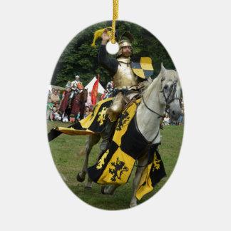 Caballero de Renfest Ornamento Para Arbol De Navidad