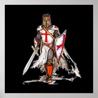 Caballero de Templar Póster