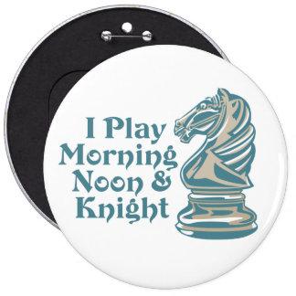 Caballero del ajedrez pin