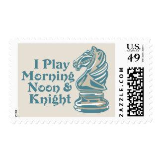 Caballero del ajedrez sello