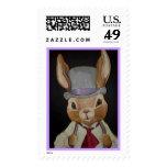 Caballero del conejo de Pascua Sellos