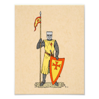 Caballero del cruzado, comienzo del siglo XIII, Cojinete