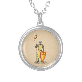 Caballero del cruzado, comienzo del siglo XIII, Colgante Redondo