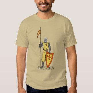 Caballero del cruzado, comienzo del siglo XIII, Poleras