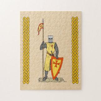 Caballero del cruzado, comienzo del siglo XIII, Puzzles