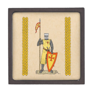 Caballero del cruzado, temprano décimotercero C, Caja De Regalo De Calidad