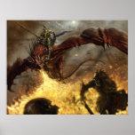 Caballero del dragón del sindicato posters