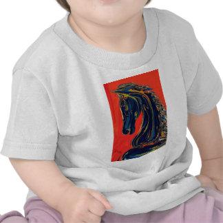 Caballero del ébano camiseta