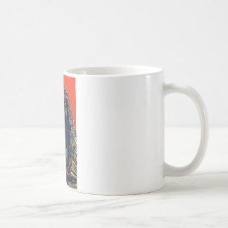 Caballero del ébano taza de café