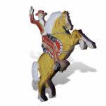 Caballero del neón de Las Vegas Escultura Fotografica