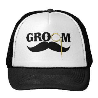 Caballero del novio gorras