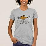 Caballero del pollo frito - modificado para camisetas