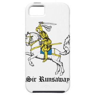 Caballero en armadura amarilla iPhone 5 Case-Mate carcasa