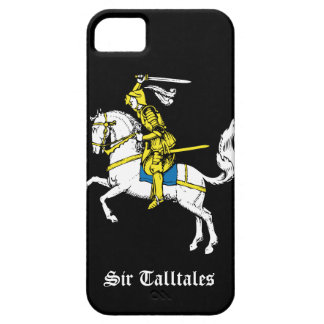 Caballero en armadura amarilla iPhone 5 fundas