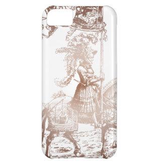 Caballero en armadura brillante carcasa iPhone 5C