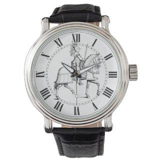 Caballero en armadura relojes de pulsera