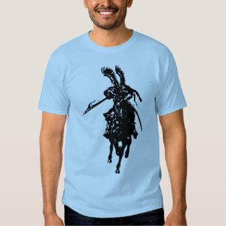 Caballero en el caballo playera