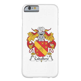 Caballero Family Crest Barely There iPhone 6 Case