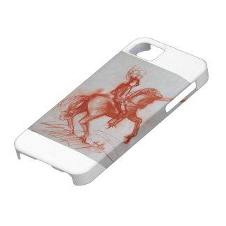 CABALLERO FLORENTINO A CABALLO iPhone 5 FUNDAS