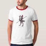 Caballero fresco en la camiseta del arte gráfico