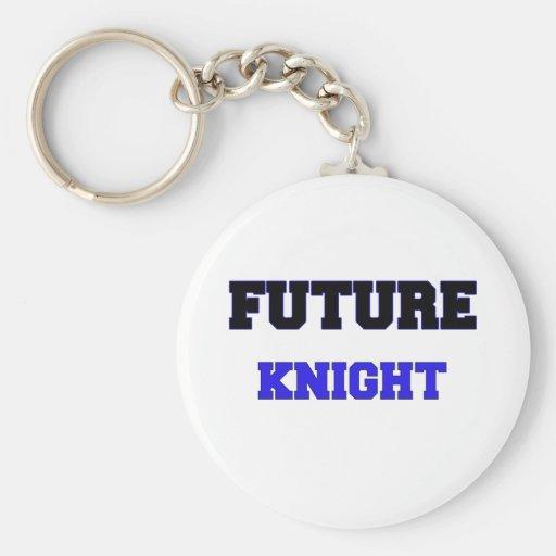 Caballero futuro llaveros personalizados