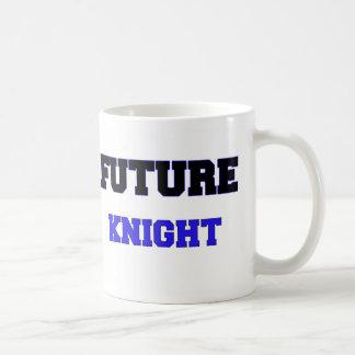 Caballero futuro taza básica blanca