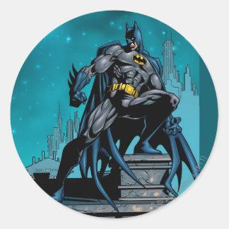 Caballero FX - 19 de Batman Etiqueta Redonda
