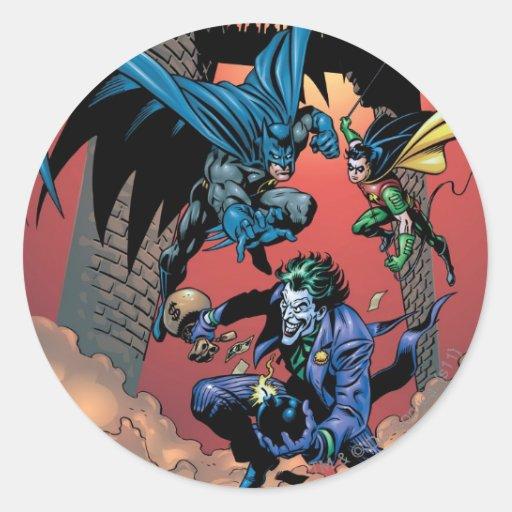 Caballero FX - 8 de Batman Pegatina Redonda