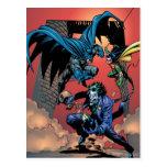 Caballero FX - 8 de Batman Tarjeta Postal