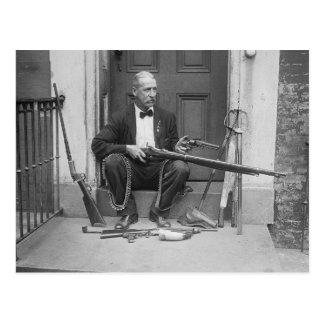 Caballero Gunslinger, 1927 Tarjetas Postales