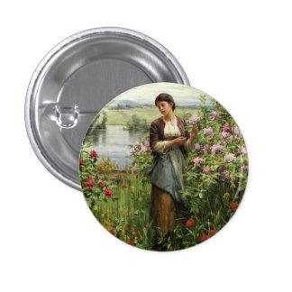 Caballero Julia de Daniel Rigway entre el botón de Pin Redondo De 1 Pulgada