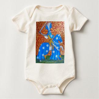 Caballero medieval body para bebé