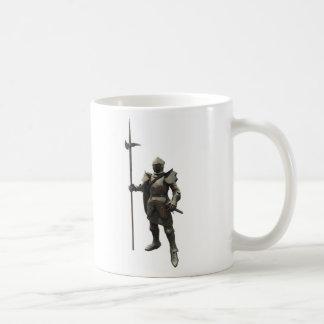 Caballero medieval del siglo XV Taza