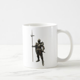 Caballero medieval del siglo XV Taza Clásica