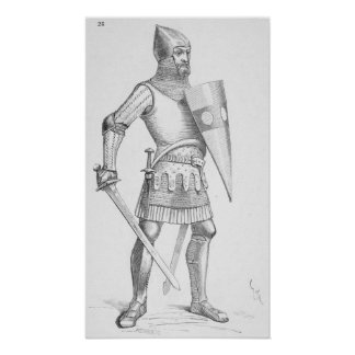 Caballero medieval poster