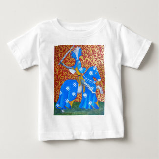Caballero medieval playera de bebé