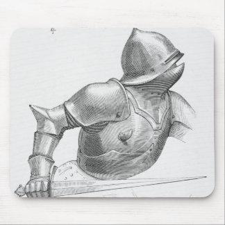 Caballero medieval tapete de ratón