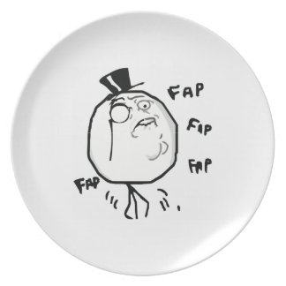 Caballero Meme cómico de Fap Plato