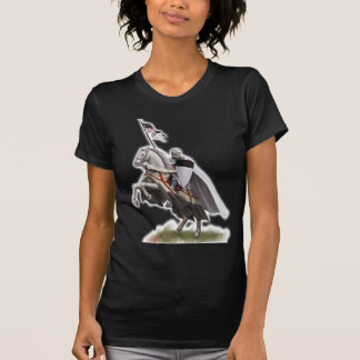 Caballero montado Templar Camisetas
