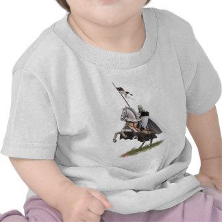 Caballero montado Templar Camiseta