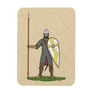 Caballero normando, circa 1066, imán flexible