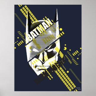 Caballero oscuro de Batman futurista Póster