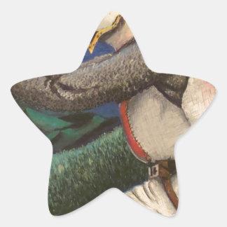 caballero templar pegatina en forma de estrella