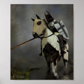 Caballero teutónico póster