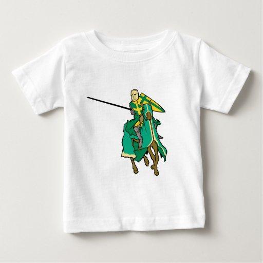 Caballero verde Jousting Playeras