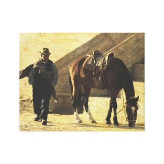 """""""Caballero"""" Wrapped Canvas Print"""