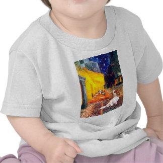 Caballeros 2 (Bl) - café de la terraza Camiseta