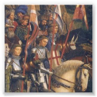 Caballeros de Cristo (Altarpiece) de Gante, Jan Cojinete