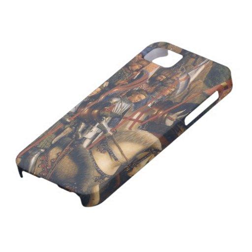 Caballeros de Cristo (Altarpiece) de Gante, Jan va iPhone 5 Case-Mate Carcasas
